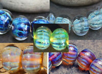 Ofira -  Handmade Glass Lampwork Beads - elasia SRA MTO - New Colors & Shapes