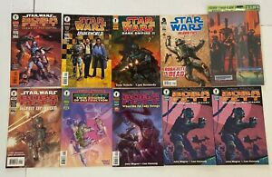 Star Wars BOBA FETT Dark Horse Mini Series Comic 10pc Lot Collection VF- to NM-