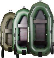 Inflatable Boat for E-Motor Dinghy 6.9 ft - 9.8 ft, All Sizes, PROFI BARK