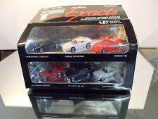 MONOGRAM Mini Exacts1:87 6er SET, Lamborgini Ferrari,Ford Mustang, Chevrolet etc