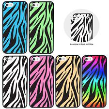 Zebra Print parachoques caso para Apple iPhone 5 5s SE 5se 6 6s 7 X XS Cubierta 8 Plus