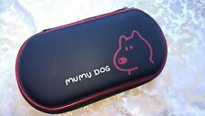 PS Vita Mumu dog Tough Hard Pouch Case cover PlayStation red PCH-1000/2000