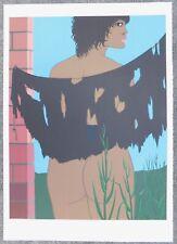 Lithografie Felix Labisse - La Dame Nue Couvre