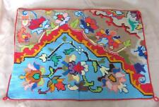 Vintage Hand Embroidered Cotton Pillow Case