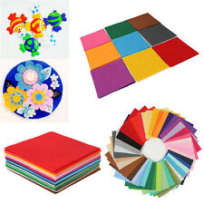 30x20cm Squares Non Woven Felt Fabric Sheets For DIY Craft Supplies Scrapbooks