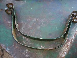 Original lister D petrol tank straps Good Condition