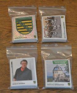 Panini Unser Sachsen Sammelsticker alle 276 Sticker komplett Set