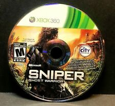 SNIPER GHOST WARRIOR (XBOX 360) Disc Only #10862