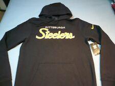 Nike Pittsburgh Steelers Scripture MEDIUM BRAND NEW Hoodie NFL Pullover Pitt