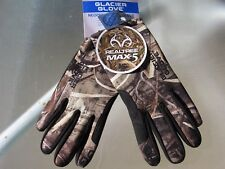 Glacier Glove Neoprene Touchscreen Finger Glove Advantage MAX 5 Camo Mens size M
