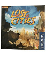 Lost Cities Card Game w/6th Expedition Board Game Thames & Kosmos THK691821