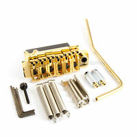 """Wilkinson Lic by Gotoh VG300 Tremolo Bridge - 2 and 1/8"""" Spacing (10.8mm) - GOLD"""