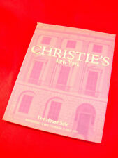 CHRISTIE'S NEW YORK INDEPENDENCE-1099 THE HOUSE SALE AUCTION CATALOGUE