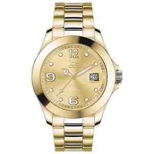 Ice-Watch Quartz Gold Dial Gold-tone Ladies Watch 017319