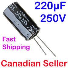 Lot of 8 Electrolytic Capacitor 220uF 35V 105C Nichicon UPE1V221MPH1CV