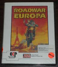 PC Game. Roadwar Europa. 5.25 floppy