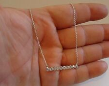 925 STERLING SILVER 10 LINE PENDANT NECKLACE/ SIZE 3MM BY 35MM/ NEW DESIGN!!!!
