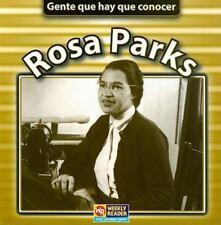 Rosa Parks (Gente Que Hay Que Conocer  People We Should Know) (Spanish Edition)