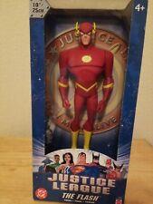 """MATTEL DC Justice League The Flash 10"""" Vinyl Action Figure B4953 NEW"""