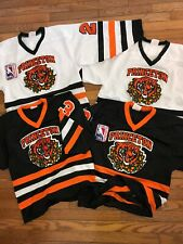 Lot PRINCETON Tiger Lillies Junior League Hockey Projoy Jersey XS Authentic Rare