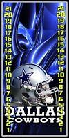 Dallas Cowboys helmet 026 custom cornhole Scoreboard with clips Made in the USA