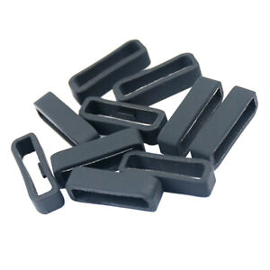 10x Rubber Strap Fastener Rings Replacement for Garmin Fenix 5X 5X Plus 26mm