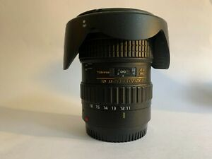 Tokina 11-16mm f/2.8 (IF) DX II For Canon in Perfect Condition