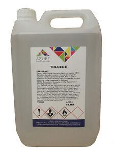 Toluene Methylbenzene Toluol Solvent Paint Thinner Cleaner Silicone Remover - 5L