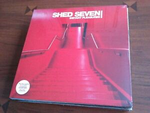 Shed Seven - Instant Pleasures [RED VINYL LP ALBUM RECORD] NEW AND SEALED