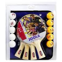 JOOLA TT-Set Family Tischtennis-Paket mit Schlägern, Bällen u. Tasche (Familie)