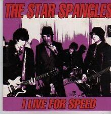 (BZ967) The Star Spangles, I Live For Speed - 2003 DJ CD