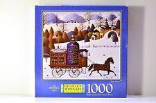Charles Wysocki Winter bouquet 1000 Piece Puzzle NEW SEALED 1998