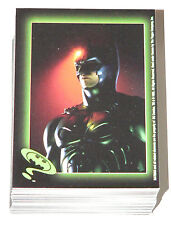 Batman Forever Sticker set by Topps in 1995.   88 Sticker Complete base set