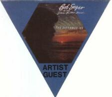 Bob Seger 1983 The Distance Tour Artist Blue Guest Backstage Pass