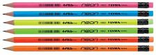 Lyra neón lápices con goma de Borrar En Caja Negro Plomo HB Grado - Paquete 12