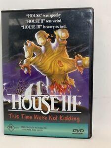 HOUSE III rare AU DVD cult 80s horror movie aka THE HORROW SHOW
