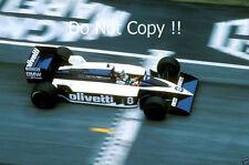 Elio De Angelis Brabham BT55 San Marino Grand Prix 1986 Photograph 3
