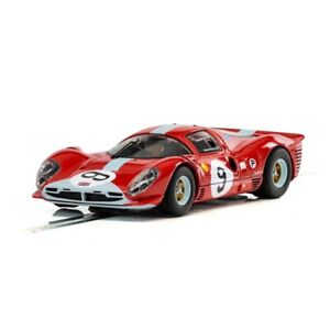 NEW Scalextric C3946 Ferrari 412P 1967 Daytona 1/32 Analog Slot Car FREE SHIP!