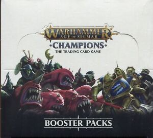 Warhammer Age Of Sigmar TCG CCG Sealed Savagery Booster Box [24 Packs]