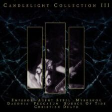 Candlelight Collection 3 (1999) Emperor, Agent Steel, Myrkskog, Daeonia, .. [CD]