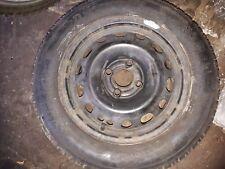 """Lot  2 Jantes acier / tole Renault Clio 2 II / Twingo 1- 5.5 x 14"""" ET49 MICHELIN"""