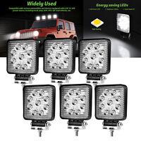 6X 27W LED Arbeitscheinwerfer Flutlicht Nebel Lampe Strahler LKW Jeep DC12V-24V