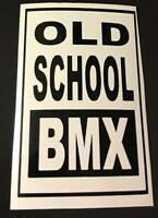 Old School Bmx Decal Sticker 80's AFA Hutch Nomura GT Haro CW Boss ACS Redline
