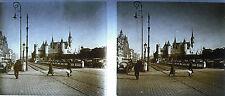 Photographie Anvers ? Antverpen Belgique château Castle vers 1930