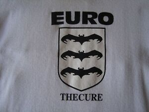 THE CURE EURO SUMMER FESTIVAL 98 T-SHIRT OFFICIAL