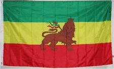 LION OF JUDAH FLAG - - - - 3 x 5 ft - - - Juddah Rasta Colors poster, New, Free