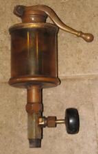 antique LUNKENHEIMER ALPHA NO 6 HAND PUMP Brass Steam Engine Hit & Miss OILER