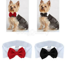 Fashion Adjustable Bow Tie Collar Necktie Bowknot Clothes For Pet Dogs Cats New