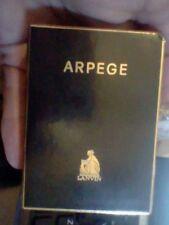 ANTIGUO PERFUME MINIATURA ARPEGE 10 MLFRANCE VINTAGE OLD EXTRAIT FRAGANCE