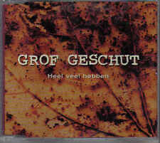 Grof Geschut-Heel Veel Hebben cd maxi single